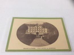 38 - URIAGE Golf HOTEL DES ALBERGES - Uriage