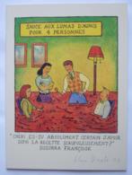 GLEN BAXTER – CARTE POUR L 'ACTUALITÉ POITOU-CHARENTES – JANVIER 2004 – SIGNÉE - Illustrateurs A - C