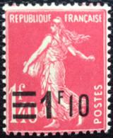 N° 228  NEUF * AVEC  CHARNIÈRE ( LOT:687 ) - 1906-38 Sower - Cameo