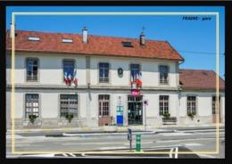 25  FRASNE  ....  La  Gare - Francia