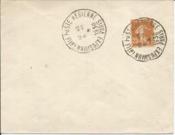 1927-31 - N° 235 Oblitéré (o) Sur Enveloppe - Expo Intern. Poste Aérienne  PARIS 1930 - Frankreich