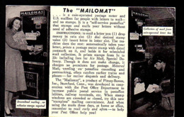FDC Mailomat Lew Nachman Miami (974) - 1941-1950
