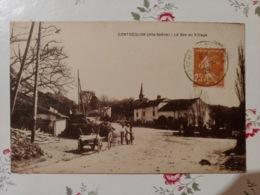 Contréglise Le Bas Du Village (haute Saône Franche Comté) - France