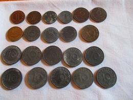 Germany: 12 Pièces Diverses 1937 - 1941 - [ 4] 1933-1945 : Troisième Reich