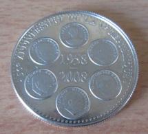 France - Médaille 50e Anniversaire De La 5e République En Argent - BE Belle Epreuve - Professionnels / De Société