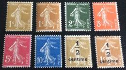 N° 277A /277B/278/278A /278B/279/279A /279B NEUF ** SANS CHARNIÈRE ( LOT:119 ) - 1906-38 Semeuse Camée