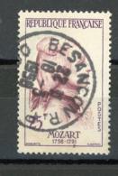 FRANCE - MOZART - N° Yvert 1137 Obli. Ronde  DE BESANÇON 1958 - France