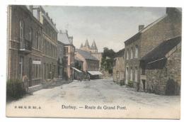 Durbuy - Route Du Grand Pont - Colorisé - Circulé - 2 Scans. - Durbuy