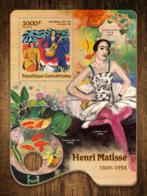 Central Africa  2016  Paintings Henri Matisse - Zentralafrik. Republik