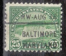 USA Precancel Vorausentwertung Preo, Locals Maryland, Baltimore 699-L-35 IHS - Vereinigte Staaten