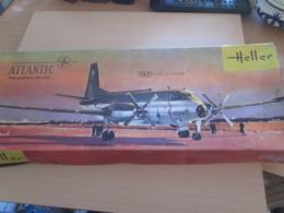 Maquette Plastique HELLER Boite Très Ancienne MYSTERE 20 1/50e NB Manque Des Pièces (vitrage E.a) - Avions