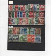 ALL-R26 - ALLEMAGNE Lot De 48 Obl. Entre N° 500 Et 524 - Used Stamps
