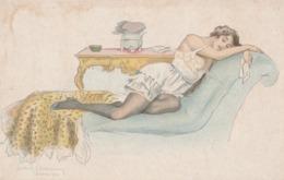 Cartolina  - Postcard / Non  Viaggiata - Unsent /  Donnina - Women