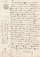 VP 1 FEUILLE - 1851 - JUGEMENT - CHARRON A MIRIBEL - MONTLUEL - Manuscrits