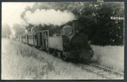 Photo P. Laurent - Nord - Chemin De Fer Du Cambrésis - Voir 2 Scans - Eisenbahnen