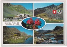 Flüelapass: SAURER POST-AUTOBUS, AUTOBUS/COACH - Flüela-Passhöhe, 2383 M - Graubünden - Schweiz/Suisse - Buses & Coaches