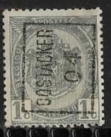 Oostacker 1904  Nr. 592Azz - Precancels