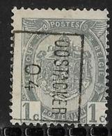 Oostacker 1904  Nr. 592Bzz - Voorafgestempeld