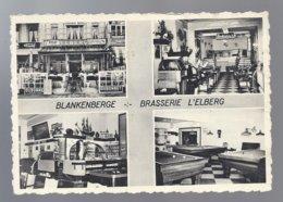BLANKENBERGE BRASSERIE L' ELBERG PROPR. HORBACH CLOSE JUKEBOX BILLARD PUB BIER LAMOT ELBERGPILS BOCK RODENBACH DUBONNET - Blankenberge