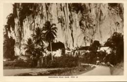 Malay Malaysia, PERAK IPOH, Anderson Road Cave (1930s) RPPC Postcard - Malaysia