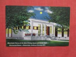 Night View Dining Room & Social Hall Recreational Farm   Fosterdale  New York >      Ref 3620 - NY - New York