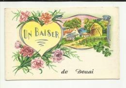 59 . DOUAI . UN BAISER DE DOUAI . BOUQUET DE FLEUR - Douai