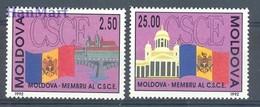 Moldova 1992 Mi 41-42 MNH ( ZE4 MOL41-42 ) - Moldawien (Moldau)