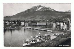 LUZERN: MIT  PILATUS  -  PHOTO  -  NACH  RUMANIEN  -  KLEINFORMAT - LU Lucerne