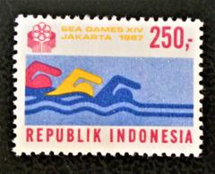 NATATION 1987 - NEUF ** - YT 1117 - MI 1229 - Indonesien