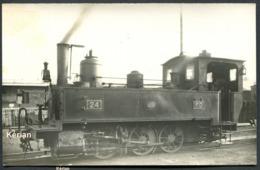 Photo Format 140 X 90 - PO - Ligne Le Blanc à Argent (BA) - Machine 030 N°24 En Chauffe - Voir 2 Scans - Treni
