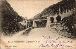 CPA Route De PIERREFITTE A CAUTERETS - Le Viaduc (281493) - France