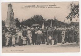 ° 51 ° L'ARGONNE ° PASSAVANT EN ARGONNE ° L'ANNIVERSAIRE DE 25 AOUT 1870 - AU MONUMENT DES MOBILES ° - Andere Gemeenten