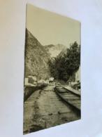 Italy Italia Italie Carrara Toscana Rail Road To Marble Mine RPPC Real Photo 11144 Post Card Postkarte POSTCARD - Carrara