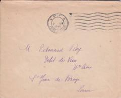 FRANCE - 1945 - Lettre En Port Payé - PP - France