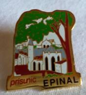 PINS PIN  Epinal Prisunic  88 Vosges - Pin's & Anstecknadeln