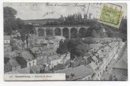 1906 - LUXEMBOURG - CARTE Avec AMBULANT BAHNPOST (GARE) TRIER - LUXEMBURG => LAGNY - 1906 Willem IV
