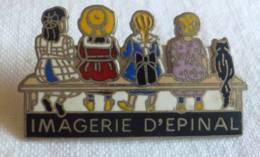 PINS PIN IMAGERIE D'EPINAL Epinal 88 Vosges - Autres