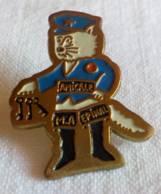 PINS PIN Amicale MA Maison D'arret Prison  Gardien Chat Botté Epinal 88 Vosges - Autres