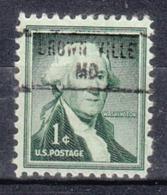 USA Precancel Vorausentwertung Preo, Locals Maryland, Brownsville 734 - Vereinigte Staaten