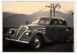 AUTO CAR VOITURE TARGA TORINO NON IDENTIFICATA - FOTO ORIGINALE ANNI 40/50? - Automobili