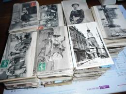 Lot De 2800 Cartes Postales Petits Formats - Dont 300 Environ Décollées - Lot Drouilles Et Petites Cartes - Postcards