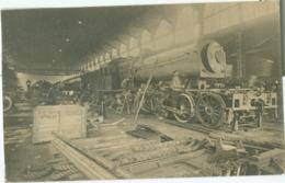 Couillet; Usines Métallurgiques Du Hainaut (Montage D'une Locomotive) - Non Voyagé. (Thill - Bruxelles) - Charleroi