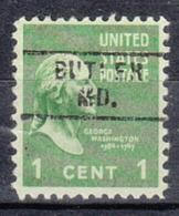 USA Precancel Vorausentwertung Preo, Locals Maryland, Butler 719 - Vereinigte Staaten