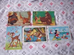 LOT DE 10 CARTES DE DISNEY DIVERS - Disney