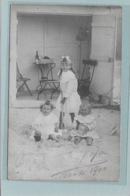 OOSTENDE: FOTOKAART-MODE-KLEDIJ-1910-PHOTOGRAHIE LUCKEFEIT OSTENDE-KIND-KINDEREN - Oostende