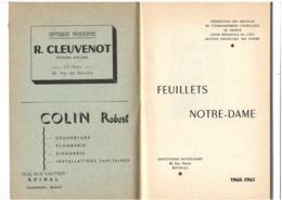Bulletin Institution Notre-Dame Epinal 1961 - Nombreuses Publicités - 50 Pages - Boeken, Tijdschriften, Stripverhalen