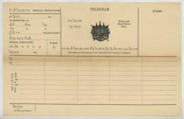Siam . Télégramme Vierge . Modèle N° 4 1894 . Telegram . - Siam