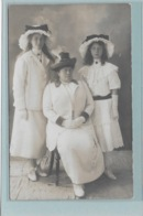 OOSTENDE: FOTOKAART-MODE-KLEDIJ-1912-DAME-LADY-VROUW-TRUCAGE-PHOTO-SURREALISME - Oostende