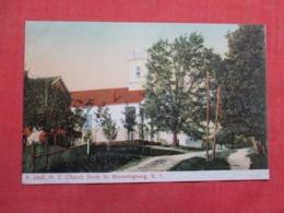 M E Church Bloomingburg New York     Ref 3620 - NY - New York