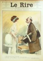 """REVUE """"LE RIRE""""-1911-421-Dessin GUILLAUME-ESPAGNAT-PECOUD-GERVESE-GRIS - Books, Magazines, Comics"""